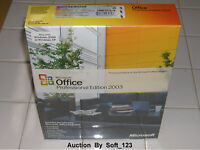 Microsoft Office 2003 Professional Licensed For 2 Pcs Full Retail Ms Pro=sealed=