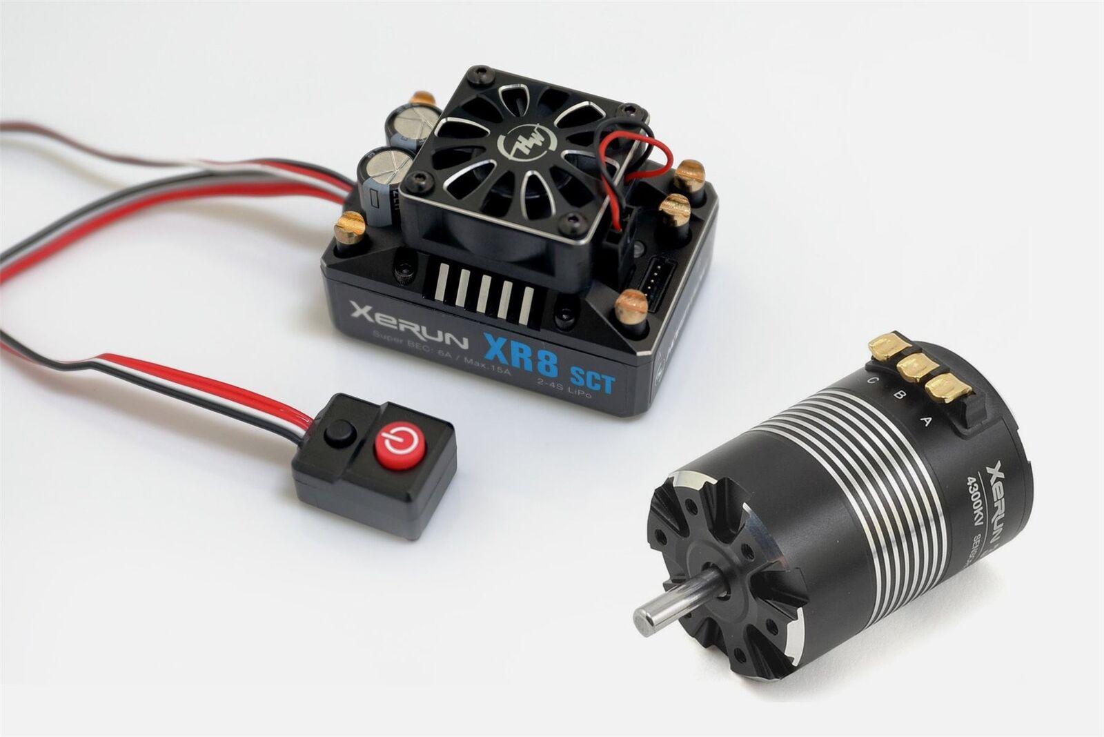 Hobbywing - XR8 SCT ESC, w/ 3652SD G2 Competition Motor - Combo  6100KV
