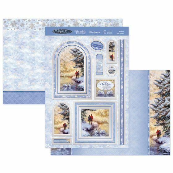 Peace Hunkydory Seasonal Style Luxury Topper Set Love /& Joy At Christmas
