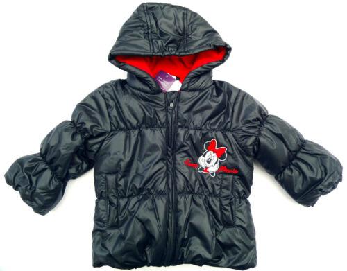 Neu Disney Minnie Mouse Jacke mit Kapuze Outdoorjacke 80 86 92