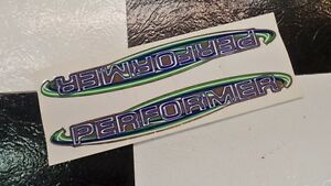 2-NOS-GT-Pro-Performer-BMX-Bike-Freestyle-Bicycle-Frame-Stickers