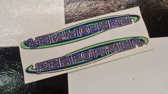 2 NOS GT Pro Performer BMX Bike Freestyle Bicycle Frame Stickers