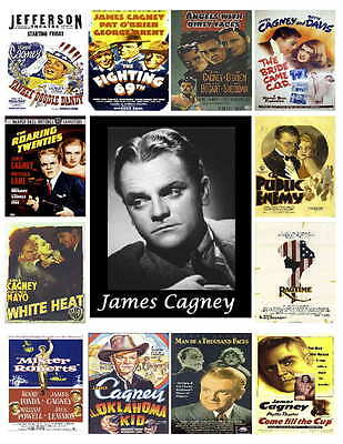 JAMES CAGNEY MOVIES PHOTO-FRIDG MAGNETS