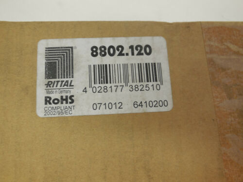 BOX OF 4 NEW RITTAL 8802.120 FOAM ENTRY STRIP 8802120