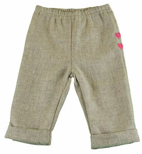 Clothing, Shoes & Accessories Trend Mark Jacadi Girl's Assez China Gray Pants With Heart Details Size 12 Months Nwt $46 Bottoms