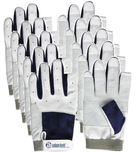 5 x Segelhandschuhe Leder Gr. M / 8 mit Finger Rigger Gloves Roadie Handschuhe