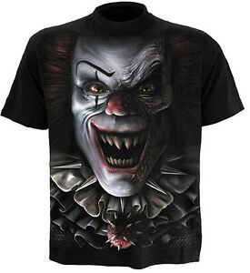 Spiral-Direct-CIRCUS-OF-HORRORS-t-shirt-tee-top-scary-clown-evil-gothic-horror
