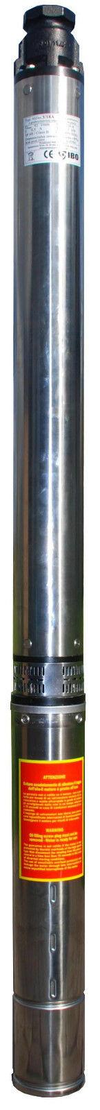 Bomba Para Pozo De Agua Sumergible ascendente 4 SD8-15 cabeza de 100m, 15000Lph, 400V resistente a la arena