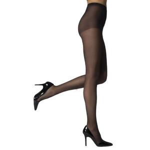 240629cc8266d Vivien Women's High Support Reinforced Toe Pantyhose Sheer Hosiery ...