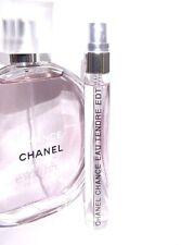 Chanel Chance 10ml Eau Tendre Eau de Toilette Spray Travel SAMPLE Purse 0.34oz