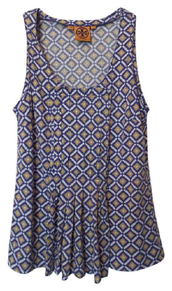 TORY BURCH Light Sleeveless OverGrößed Cotton Knit Tunic Top Tank Größe S