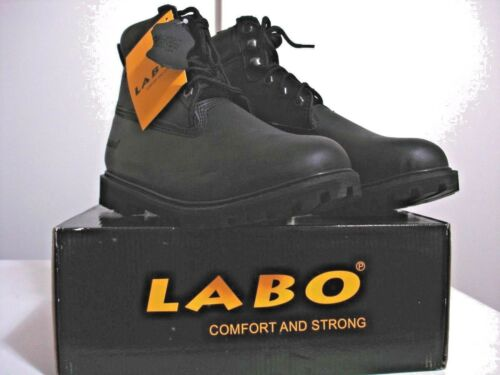 """Labo Homme Travail Bottes Couleur 7 W à 13 W Hight 6/"""" isolé Wat Re Noir TH612 Taille"""