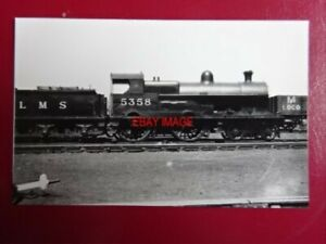 PHOTO  DARKROOM - LMS EX  LNWR GEORGE V  CLASS LOCO NO 5358 MALTAS