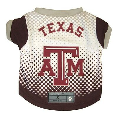 Heerlijk Texas A & M Aggies Ncaa Licensed Dog Pet Performance Tee Shirt Sizes Xs-xl