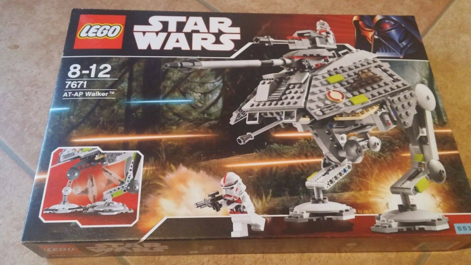 LEGO Star Wars AT-AP Walker (7671) Neu und OVP