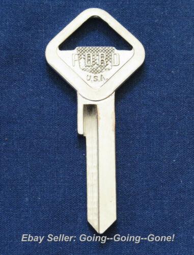 NOS ORIGINAL OEM FORD UNCUT KEY BLANK 1952-1954 H14 1127 IGNITION DOOR RARE