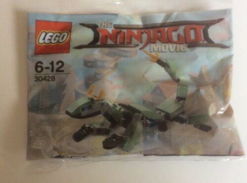 Polybag New /& Sealed. LEGO: Ninjago Movie Green Ninja Mech Dragon 30428