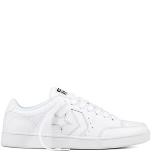 converse cuir blanche homme