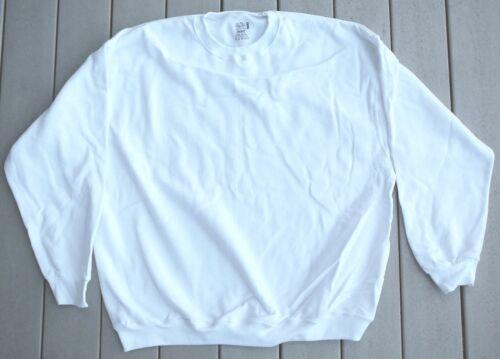 de mezcla poliéster de suéteres y telar Lote de blanca algodón de de larga manga de fruta Nuevo 40 UxBxf1z