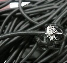 10M*5mm Black Strong Elastic Bungee Rope Shock Cord Tie Down DIY Jewelry Making