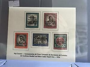 1965 Scout Jamboree mint never hinged stamps sheet R26385