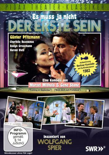 1 von 1 - Es muss ja nicht der erste sein * DVD Komödie Wolfgang Spier Pidax Theater Neu