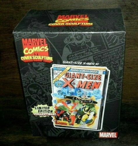 MARVEL CODE 3 SCULPTURE X-MEN #1 GIANT SIZED 3-D POLYSTONE HAND PAINTED WALL