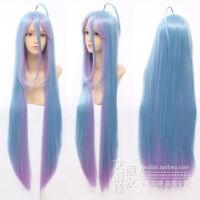No Game No Life Shiro 90cm Anime Cosplay Costume Wig+free gift
