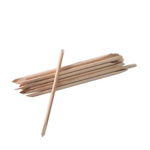 Image Is Loading Star Nails Orangewood Sticks X 20 Pack Large