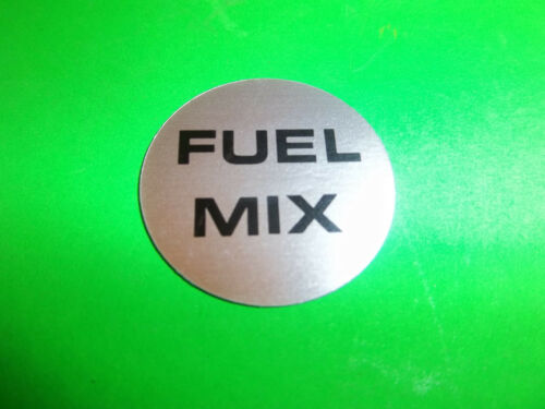 NEW ECHO FUEL CAP  DECAL FITS CHAINSAWS   89015403930  OEM