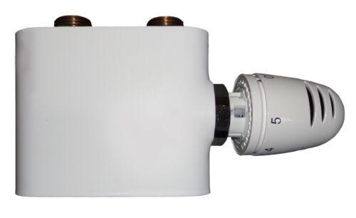 Anschlussgarnitur HERZ Ventil Mittelanschluss Heizung Thermostat Multiblock NEU