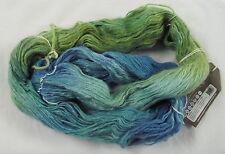 50% OFF! 100g Araucania YELCHO Hand Painted Wool Kid Mohair Silk Yarn #1804