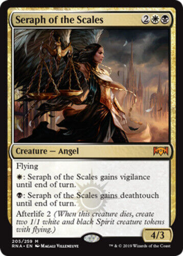 English Regular Seraph of the Scales Ravnica Allegiance 1x NM-Mint