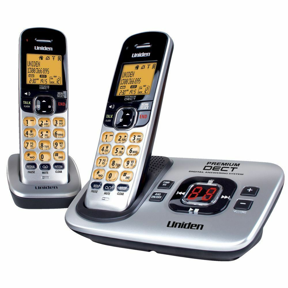 UNIDEN PREMIUM DECT 3135+1 DIGITAL CORDLESS PHONE SYSTEM WORKS IN BLACK OUTS^  eBay