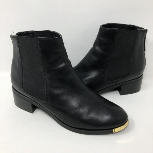 Kurt Geiger London Ankle Boots Black Block Heel Go