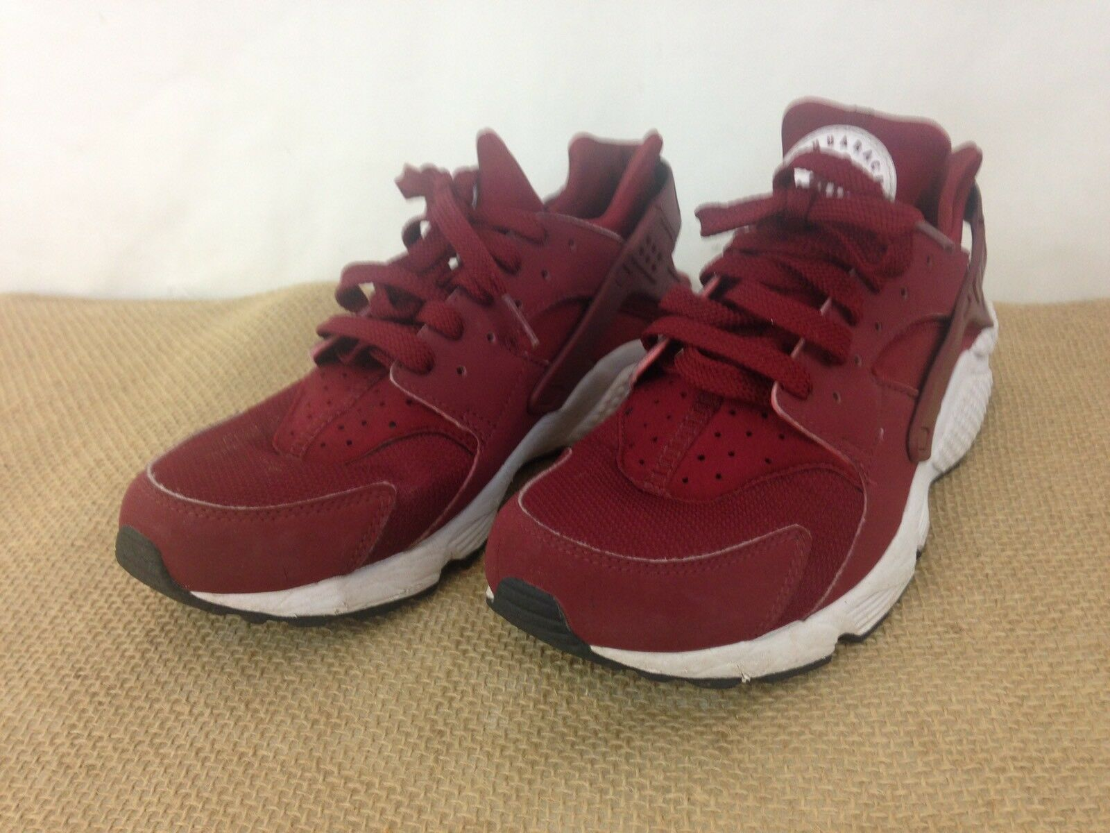 Nike Air hurache Run 318429 hombre zapatillas 10 equipo rojo running zapatillas hombre zapatos 5007bd