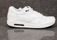 Nike Air Max 1 Triple White Essential Black 90 Force Trainers Sneakers