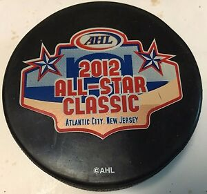 2012 AHL All-Star Game Official Souvenir Hockey Puck Atlantic City