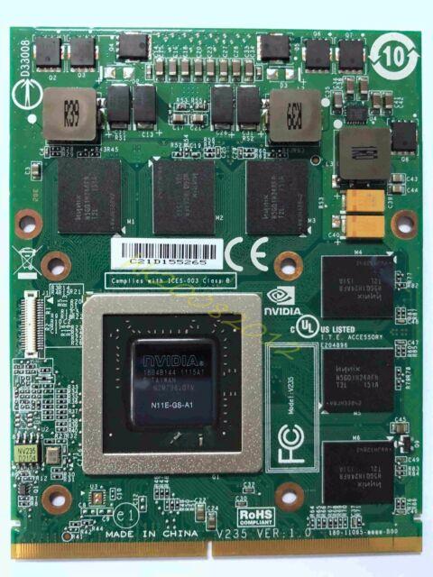 NEW Alienware M17X M18x NVIDIA GTX 460M 1.5GB Video Card VDV04 Free shipping