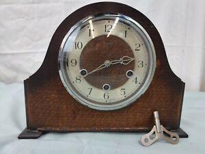 Vintage - Smith English Clocks Ltd - Mechanical Mantel Clock with Chimes