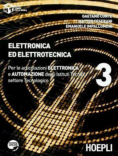 ELETTRONICA ED ELETTROTECNICA VOL.3 - G.CONTE M.CESARANI E.IMPALLOMENI - HOEPLI