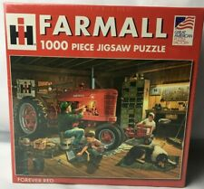 Mccormick Farmall Forever Red Tractor Puzzle1000 Piece Barnfarmkidsfamilydog