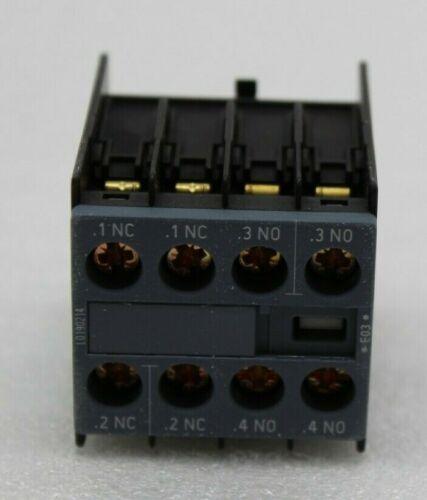 Siemens 3RH2911-1HA22 Hilfsschalterblock 2S+2Ö S00+S0 NEU