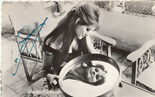 Claudia Cardinale - italienische Karte aus den 1950ern - original signiert