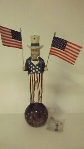 Bethany-Lowe-Americana-12-034-Uncle-Sam-With-Flags-TD5018