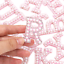 miniature 6 - Pearl Letter Patches Rhinestone Sparkle Alphabet Embroidery Sew on Iron on A-Z