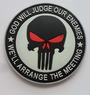 NEW  THE PUNISHER SF SEALS Patch