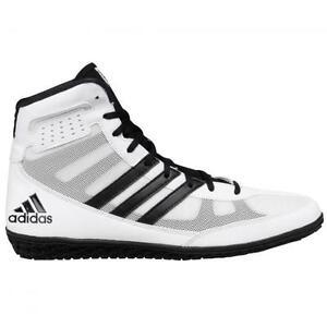 Adidas Mat Wizard III White/Black Wrestling Shoes Sizes 7, 8, 9 ...