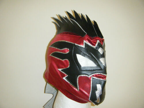 Kalisto Voller Kopf Kinder Wwe Wrestling Maske Kostüm Verkleidung Lucha Drachen