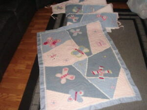 Pottery Barn Kids Sophie Butterfly Crib Quilt Set Bed Ebay